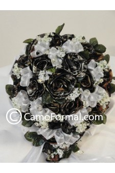 "Camo Floral ""Bridal"" Bouquet"