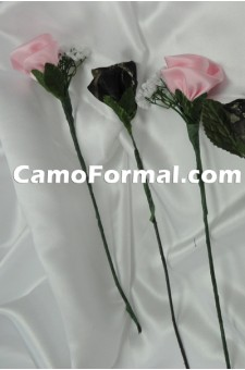 Camo Long Stem Rose