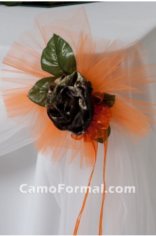 * Camo Medium Table Bow