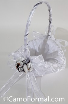 Camo Flower-girl Basket