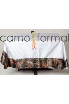 "*Tablecloth ""Oblong"" with Camo Trim"