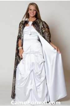 Cape, Reversible, Camo and Satin