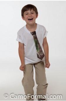 Boys T-Shirt Tie