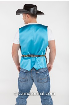 *Men's Vest Full Back in Colors