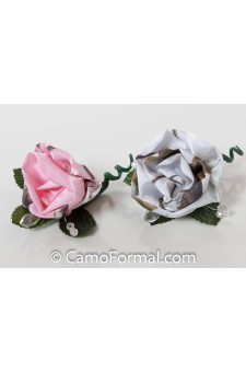 Boutonniere Realtree AP SNOW or AP PINK