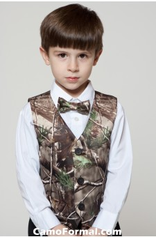 * Boys Vest and Bow Tie Set