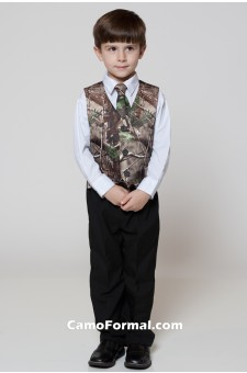 * Boys Vest and Long Tie Set