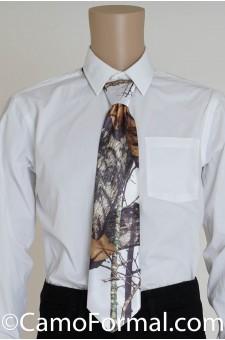 Camo Long Tie