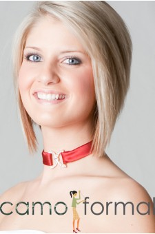 Choker-Tie Back with Double Clasp