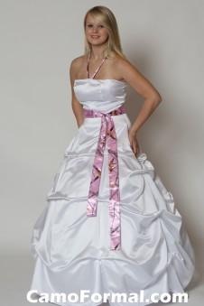 3044M Strapless Pickup Skirt