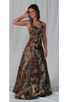 Long camouflage formals Camouflage Prom Wedding Homecoming Formals