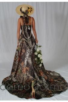 Sale 3051 Halter Wedding Gown with Train
