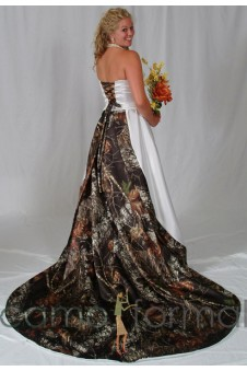 Camo Bridal and Wedding Dresses Camouflage Prom Wedding Homecoming ...