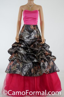 3066 Camo Pickup Ball Gown