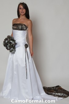 "* 3132 ""Crystal"" A-Line Bridal Gown with Train"