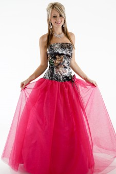 * 3658GN2R Ballgown with Glitter-Net Skirt