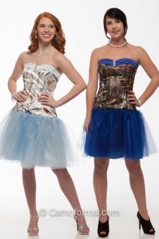 3660GN Glitter Net Camo Dress