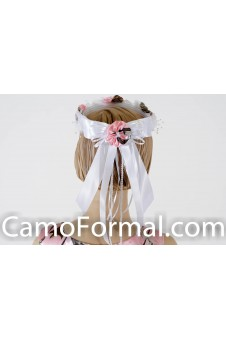 Camo Flower-girl Wreath