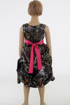 SALE 5603  Tucked Pickup Flower-girl dress