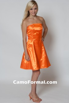 *BM 7700 Camo Maids Aline Short