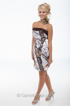 *HC 8074B Slim Short Dress with Band
