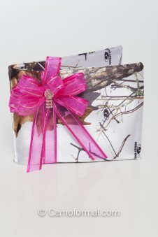 Camo Bling Guest Book