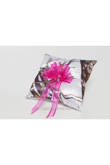 Camo Bling Ring Pillow