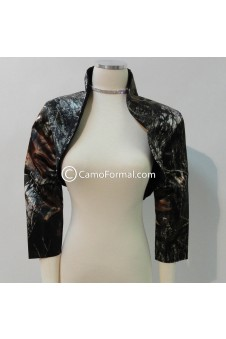 Camo Short Jacket Rollback Queen Ann Collar