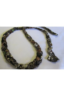 Belt, Braided Camo Fabric