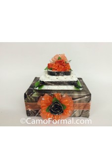 * Camo CAKE Base with Rose