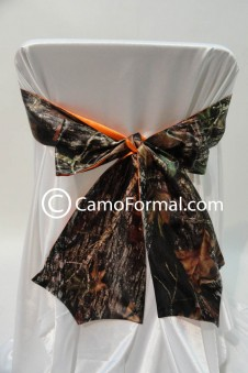 * Camo Chair Tie 2 colors