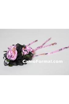 Corsage, 4 Roses Wrist-Camo