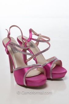 """Allie"" Fun 4"" Jeweled Platform Sandal #421"