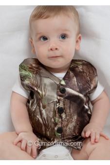 "Baby Camo ""Onesie"" Vest"