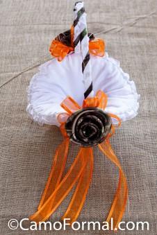 Camo Flower-girl Basket