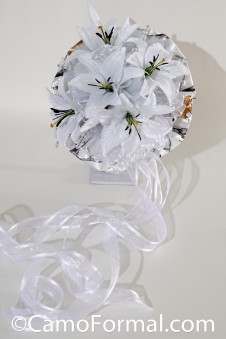 *Snow Camo Bouquet