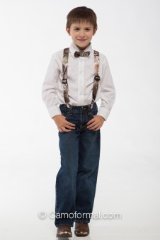 * Camo Suspenders - Children