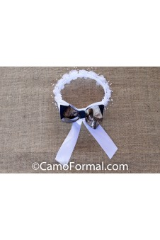 Denim & Camo Hair Wreath