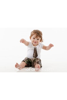 * Baby Onesie Tie and Shorts