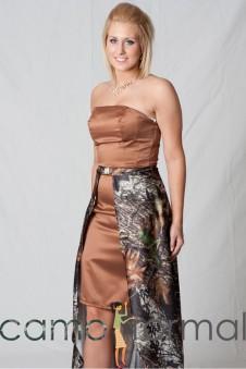 7071CS Two pc Dress and Detachable Skirt/Train