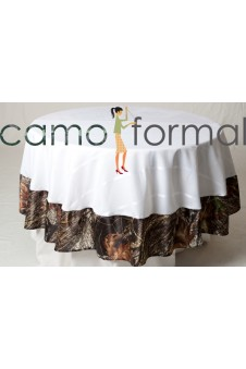 "*Tablecloth ""Round"" with Camo Trim"
