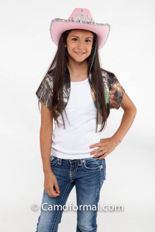 Bolero Jacket, Girls Short Sleeves
