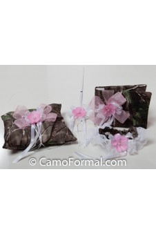 """I Love Peonies"" Camo Collection - Set of 4"