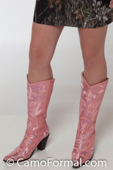 """Tall"" BLING Boots"