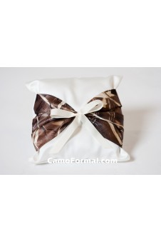 Ring-bearer Pillow with Camo Accent
