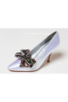 """Debutante"" Dyeable Camo Accented Shoe"