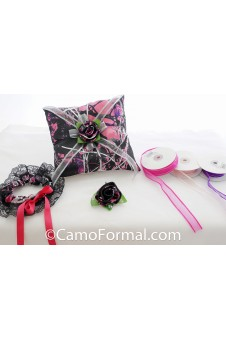 Garter, Pillow & Boutonniere Muddy Girl