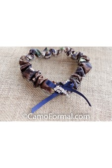 Camo Guns & Roses Groom's Garter