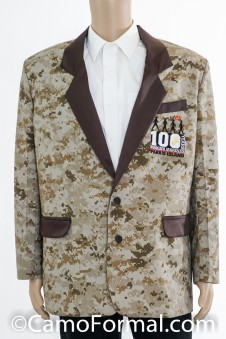 Camo Dinner Jacket - Customer Supplied Camo