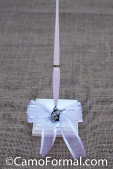 Guest Book Pen with Charm